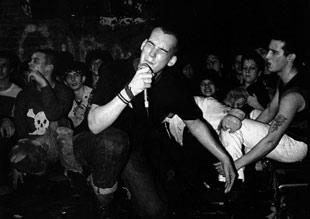 Minor Threat - Ian McKaye [foto - Glen Friedman, Southern Records]