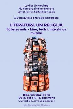 """""""Literatūra un reliģija"""""""