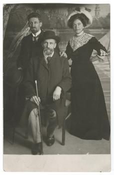 Dauge, Rainis, Aspazija (1911.)