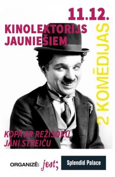 Jānis Streičs pasniegs lekciju par komēdijām