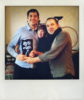Romāns, Darja un Uldis ar IDFA balvu