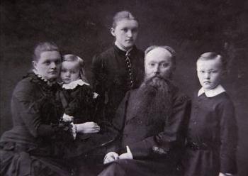 otogrāfijas no Nikolaja Rēriha ģimenes albuma